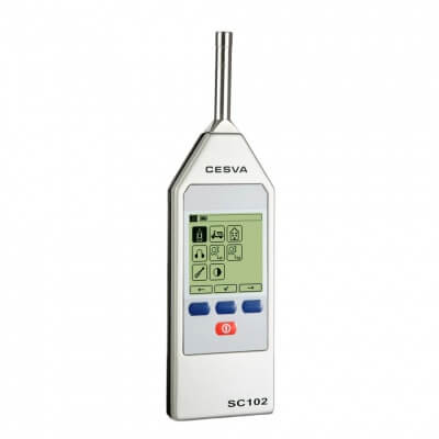 Cesva SC102 Class 2 Sound Level Meter
