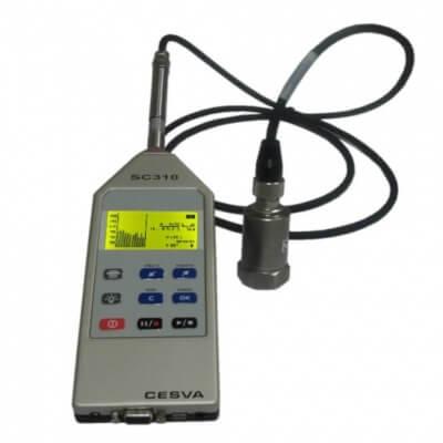 Cesva SC310 + VM310 Vibration Meter
