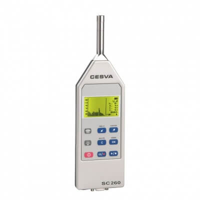 Cesva SC260 Class 2 Sound Level Meter