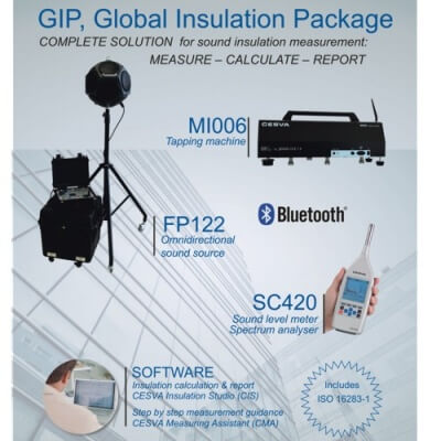 Cesva Global Sound Insulation Package